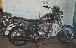Px Gn on 1980 Suzuki Gn400