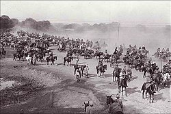 Grand Trunk Road, at Ambala Cantonment, during British Raj