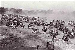 Grand Trunk Road, ad Ambala Cantonment, durante il Raj britannico