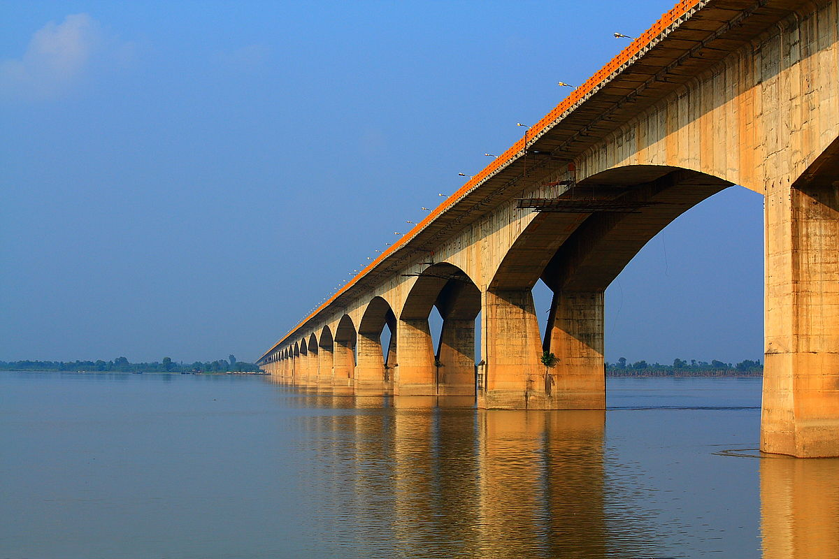 List of longest bridges above water in India - Wikipedia
