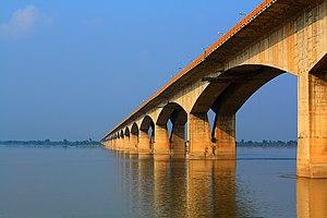 Mahatma Gandhi Setu - Gandhi Setu Bridge in Patna, India