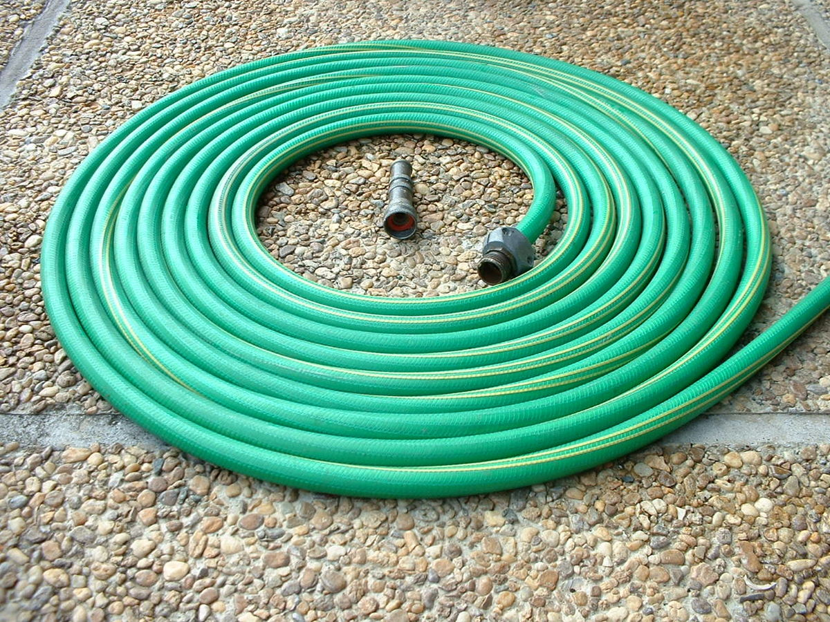 Image result for coiled garden hose