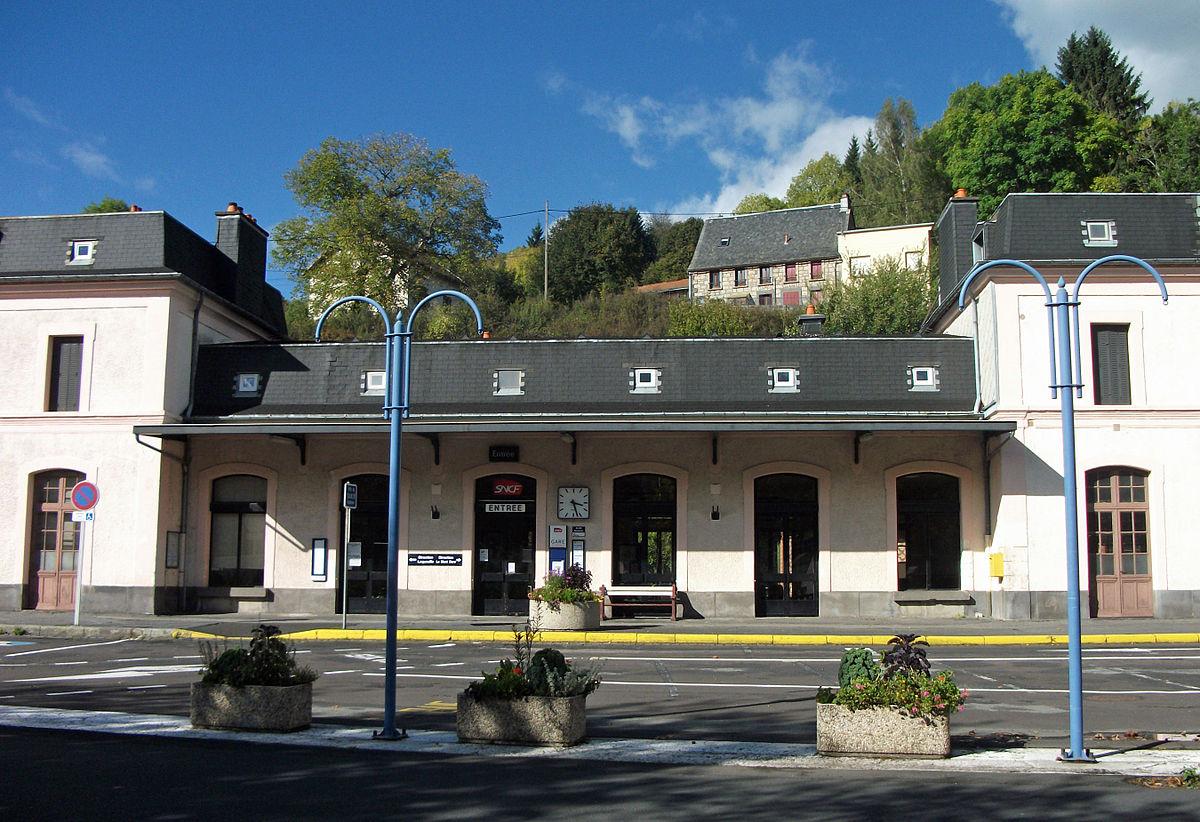 Gare de la bourboule wikip dia for Garage de la gare bretigny