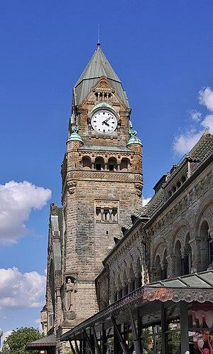 Gare de Metz-Ville - Image: Gare de Metz R03