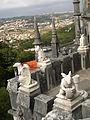 Gargouilles sur le toit du Palais de la Regaleira (Sintra).jpg