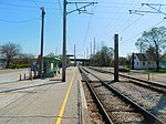 Gary Chicago Airport at Clark Road station (26552375112).jpg