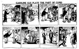 Gasoline Gus - Typical Gasoline Gus cartoon, published in 1920.