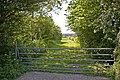 Gateway into field, Botany Bay, Enfield - geograph.org.uk - 795507.jpg