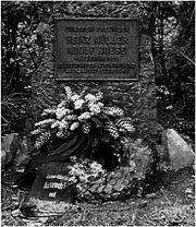Gedenkstein 1950