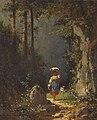 Gemälde - Mädchen mit Ziege - Carl Spitzweg.jpg
