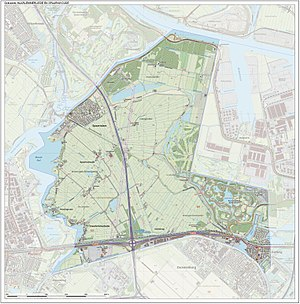 Haarlemmerliede en Spaarnwoude - Image: Gem Haarlemmerliedeca Open Topo