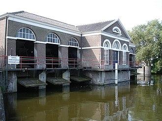 Halfweg - Image: Gemaal Halfweg