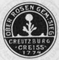 Gemeindesiegel Ober-Rosen Kreuzburg.png