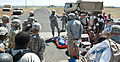 General radiates enthusiasm for CBRNE soldiers conducting homeland security exercise 120510-A-KU062-761.jpg