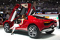 Geneva MotorShow 2013 - Italdesign Giugiaro Parcour XGT-Coupe red rear left view.jpg
