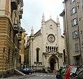 Genova Sampierdarena chiesa Sacramento.JPG
