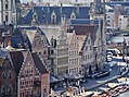 Gent Graslei viewed from Burg Gravensteen 5.jpg