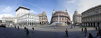 Piazza De Ferrari - Image: Genua Piazza De Ferrari