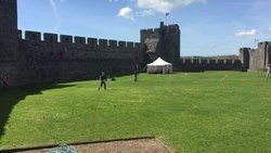 File:Geophys at Pembroke Castle.webm