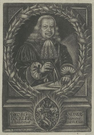 Georg Andreas Böckler - Georg Andreas Böckler, 1681