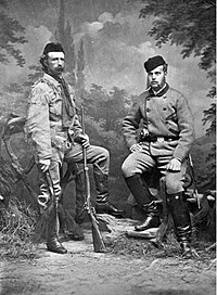 George Amstrong Custer with Grand Duke Alexei Alexandrovitch