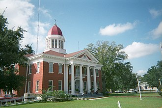 Lucedale, Mississippi - George County Courthouse in Lucedale