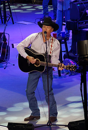 George Strait singles discography - Image: George Strait 2013 6