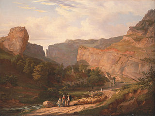 A View of Cheddar Gorge