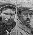 Georges Casse (G) et André Rousseau (D), troisièmes des 24 Heures du Mans 1927, et vainqueurs de la Coupe biennale Rudge-Witworth.jpg