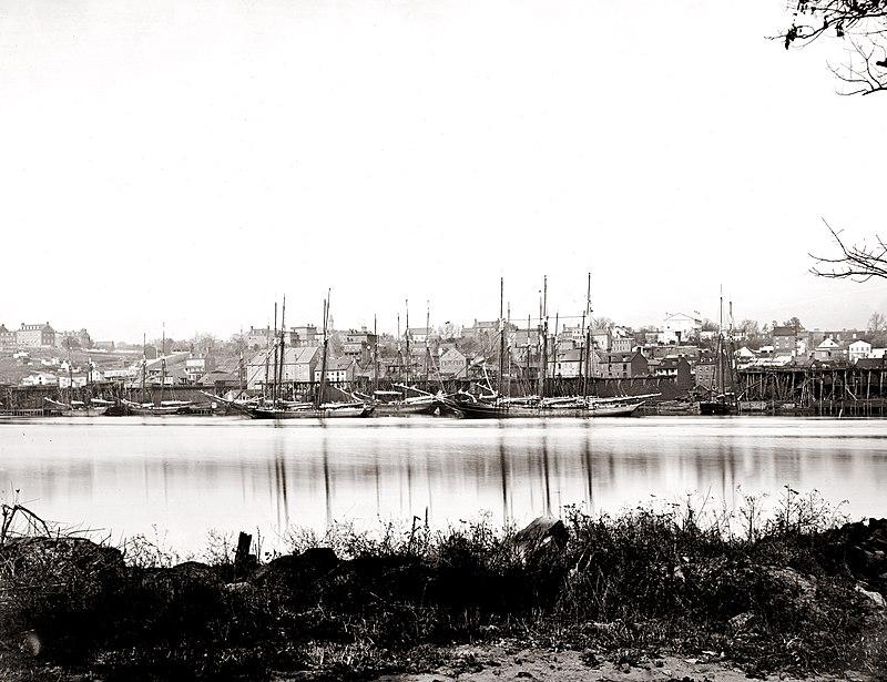 Georgetown waterfront in 1865.jpg