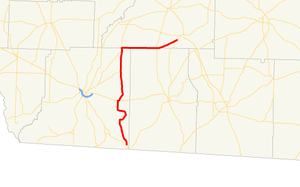 Georgia State Route 262 - Image: Georgia state route 262 map