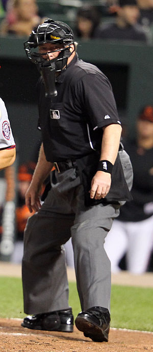 Gerry Davis (umpire) - Davis in 2011