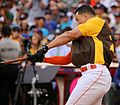 Giancarlo Stanton competes in semis of '16 T-Mobile -HRDerby. (28574675745).jpg