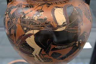 personification of fear in Greek mythology