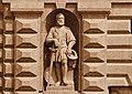 Giorgio Sommer, King's Gate Valletta (statue of La Vallette).jpg