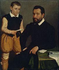 Portrait of a Man and a Boy (Count Alborghetti & Son)
