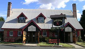 Glencoe, New South Wales - Red Lion Inn