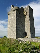 Amazing Gleninagh Castle, County Clare, Ireland