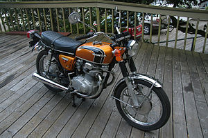 Honda cb350 wikivisually gold 1972 honda cb350 twin rightg fandeluxe