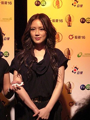 Ivy Yin - Yin at the 2008 Golden Bell Awards ceremony