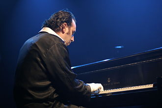 Chilly Gonzales - Gonzales at the Mod Club in Toronto 2009.