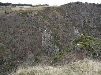 Arzenc-d'Apcher - The Gorge of Bès, in Arzenc-d'Apcher
