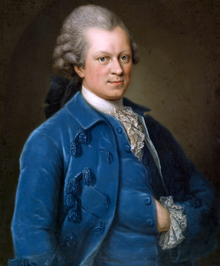 Portrait of Lessing by Anna Rosina Lisiewska during his time as dramaturg of Abel Seyler's Hamburg National Theatre (1767/1768)