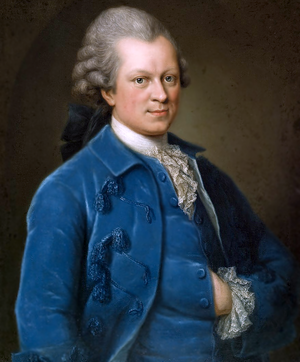 Gotthold Ephraim Lessing - Portrait of Lessing by Anna Rosina Lisiewska during his time as dramaturg of Abel Seyler's Hamburg National Theatre (1767/1768)