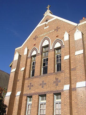 Goulburn, New South Wales - St Brigid's School, Goulburn, now closed; the scene of an education strike in 1962.
