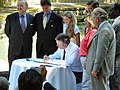Governor Jeb Bush signing the Wekiva Parkway and Protection Act.jpg