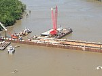 Governor Jindal tours sinkable barge project in St. Mary Parish 2.jpg