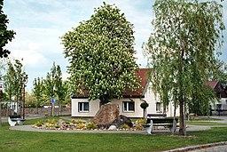 Dorfplatz in Bernburg