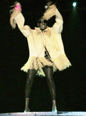 Grace Jones - Jones performing in 2007.
