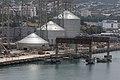 Grain silos at KSK terminal.jpg
